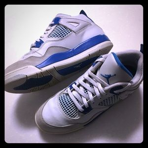 Kids military blue 4s